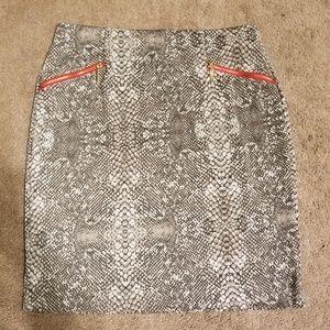 Alfani Snake Skin Print Skirt